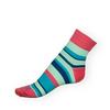 Ponožky Phuseckle Classicline modré pruhy - zobrazit detail zboží