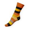 Ponožky Phuseckle Classicline oranžové pruhy - zobrazit detail zboží