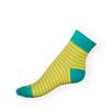 Ponožky Phuseckle Classicline zelené pruhy - zobrazit detail zboží