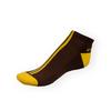 Dámské nízké kotníkové Phuseckle Softline hnědo-žluté - zobrazit detail zboží