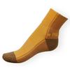 Ponožky Phuseckle Streetline béžovo-žluté půlené - zobrazit detail zboží