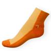 Ponožky Phuseckle Streetline oranžovo-žluté půlené - zobrazit detail zboží