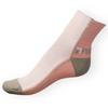 Ponožky Phuseckle Streetline růžovo-bílé půlené