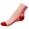 Ponožky Phuseckle Streetline tm.růžovo-růžové půlené