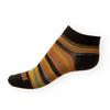 Dámské ponožky Phuseckle Summerline černo-žluto-oranžové pruhy - zobrazit detail zboží