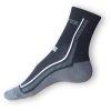 Ponožky Litex Cyklo černé-šedé