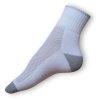 Ponožky na běh bílé-šedé