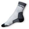 Trek ponožky bílé-šedé