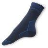 Trek ponožky černé-modré - zobrazit detail zboží