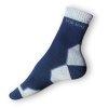 Trek ponožky modré-šedé